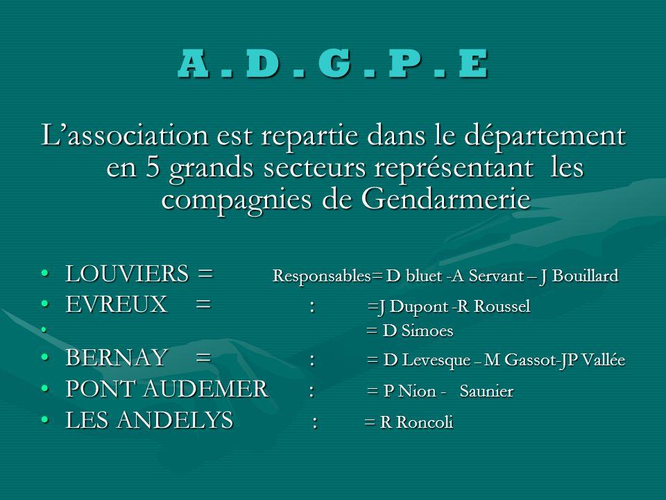 A. D. G. P. E A ASSOCIATION FUT CREE EN 1996 S SOUS LIMPULSION DU PRESIDENT DE LA F FEDERATION DEPARTEMENTALE D DES CHASSEURS DE LEURE DE CETTE PERIOD