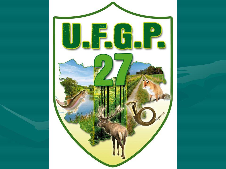 Devient en 2012 U. F. G. P. 27 Union Fédérale des Gardes Particuliers 27 A. D. G. P. E A ssociation D es G ardes P articuliers de l E URE A. D. G. P.