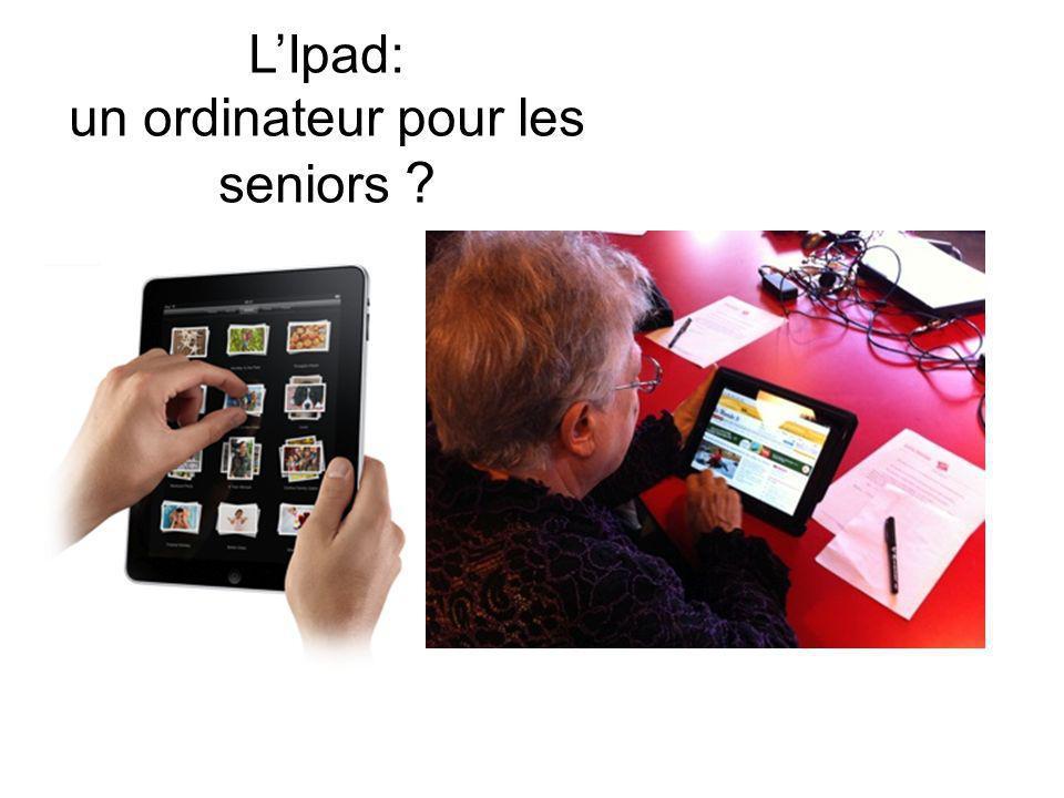 LIpad: un ordinateur pour les seniors ?
