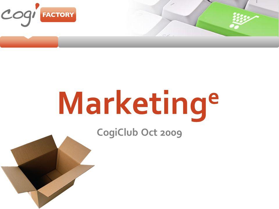 Le concept du Marketing e Marketing Etudes Marketing Stratégique Marketing Opérationnel Client Entreprise Echanges Un mix des outils en ligne et offline Hybridation Solution Echanges