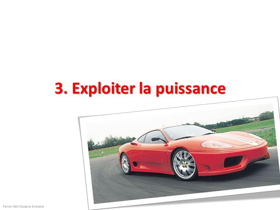 3. Exploiter la puissance Ferrari 360 Modena Stradale