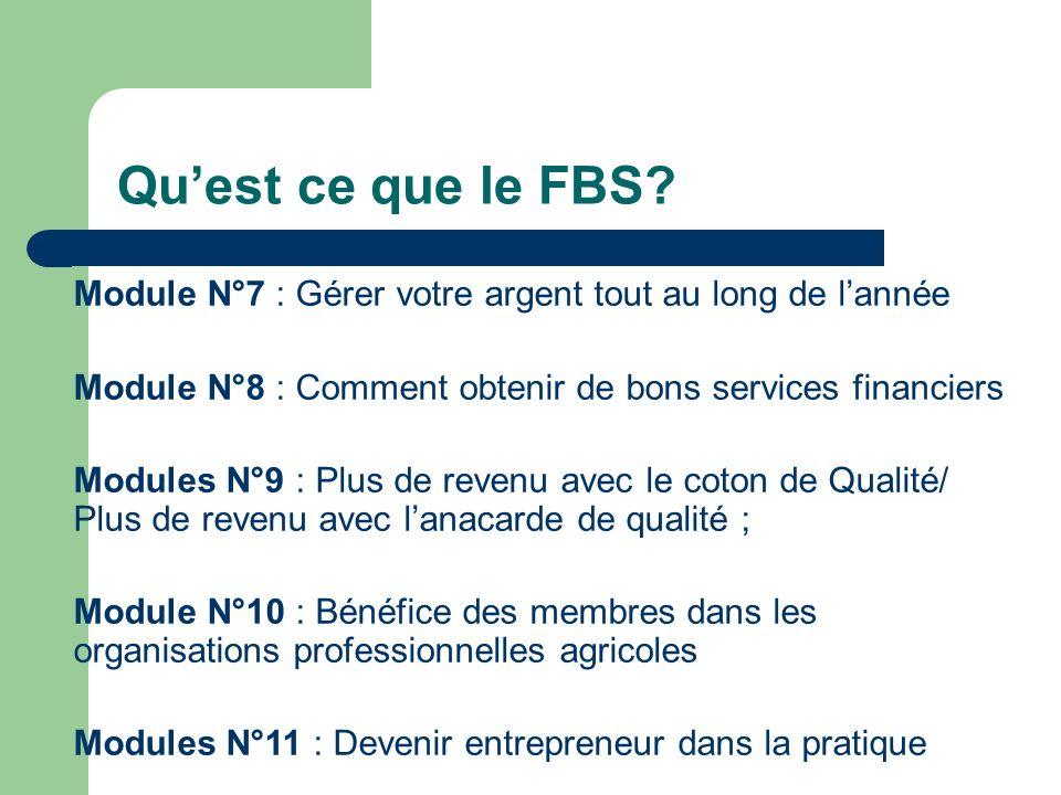 Quest ce que le FBS.