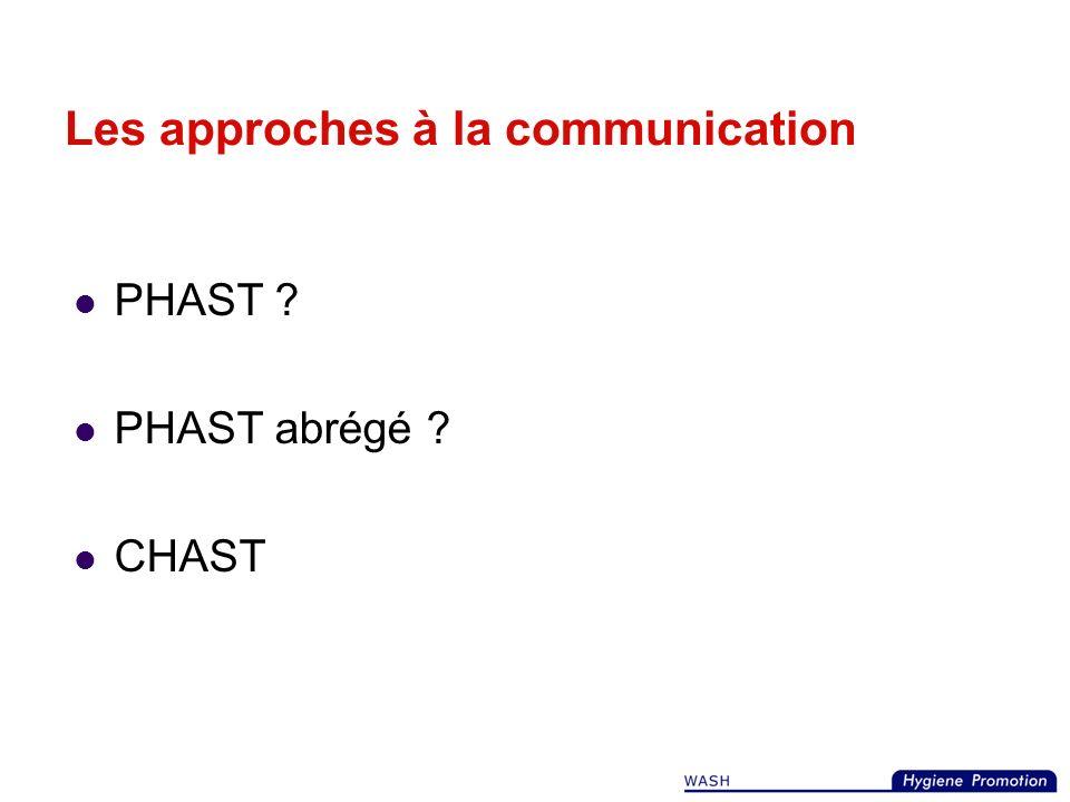 Les approches à la communication Enfant à Enfant