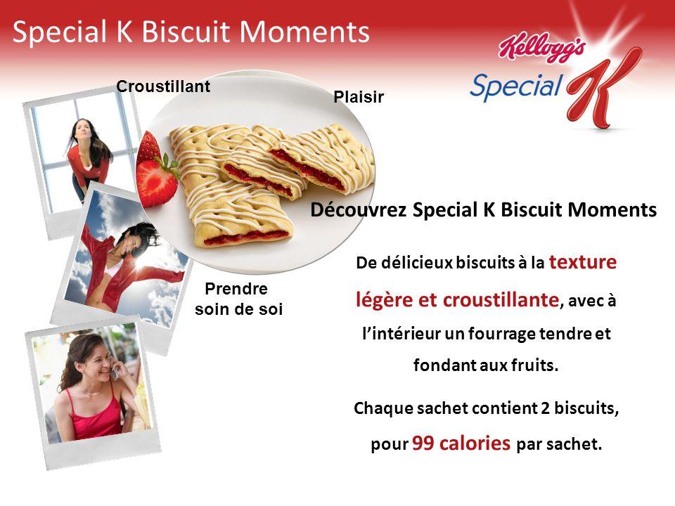 Special K Biscuit Moments Découvrez Special K Biscuit Moments De délicieux biscuits à la texture légère et croustillante, avec à lintérieur un fourrag