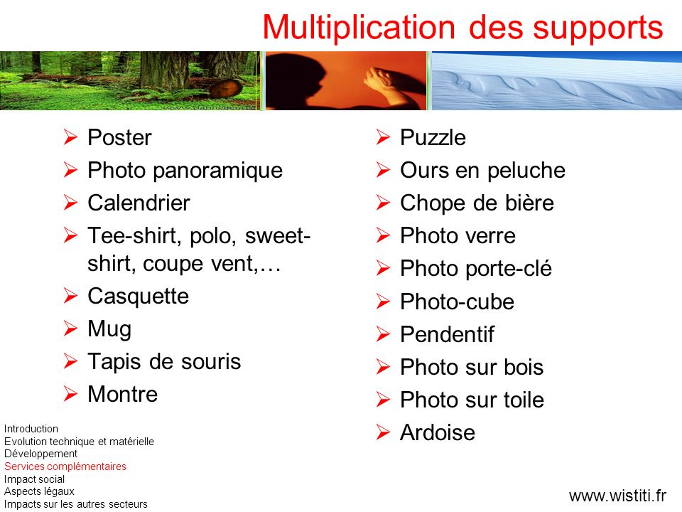 Multiplication des supports Poster Photo panoramique Calendrier Tee-shirt, polo, sweet- shirt, coupe vent,… Casquette Mug Tapis de souris Montre Puzzl