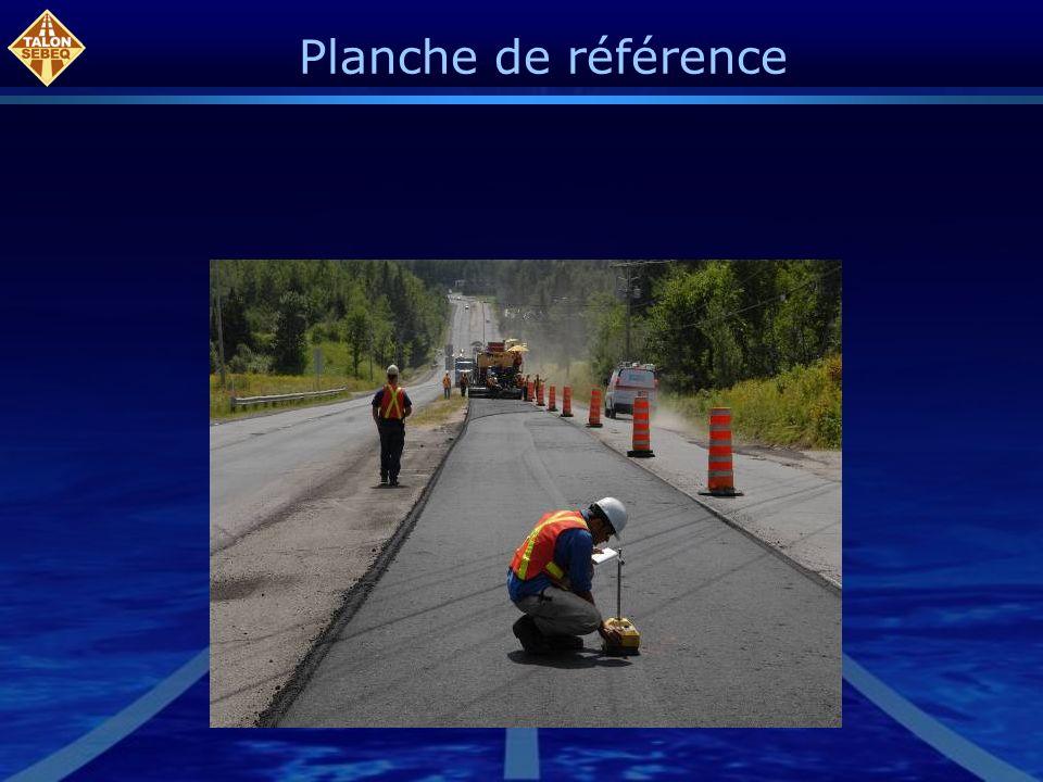Planche de référence