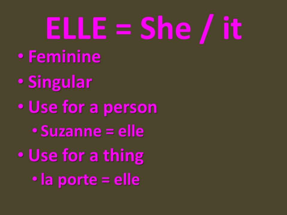 è sounds like the e in ED or met.2 boot verbs Note: è sounds like the e in ED or met.