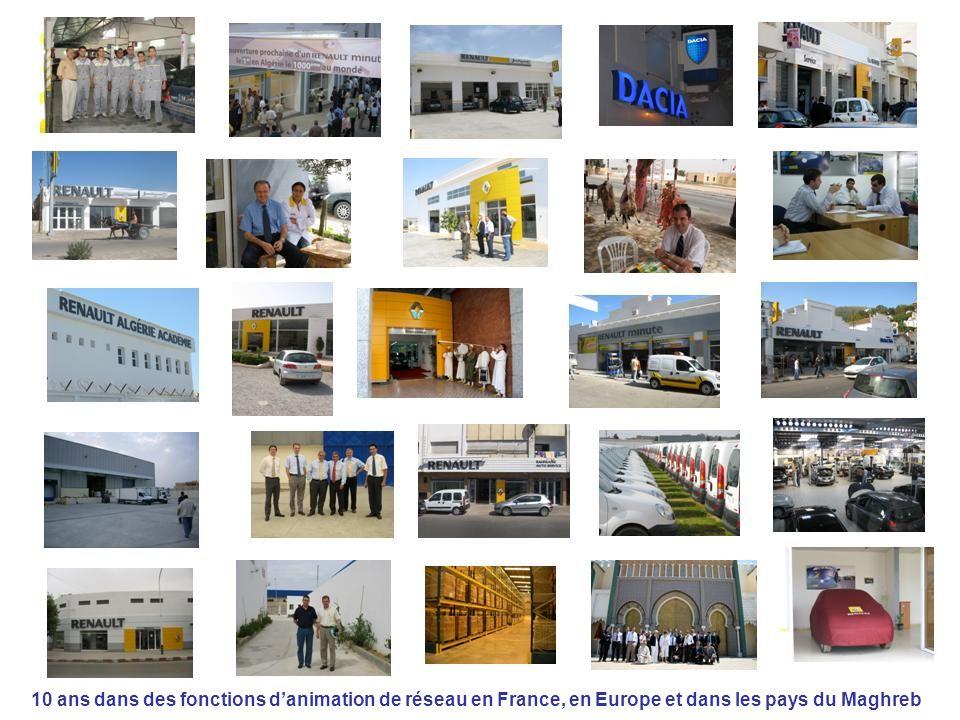 24/09/10 10 ans dans des fonctions danimation de réseau en France, en Europe et dans les pays du Maghreb