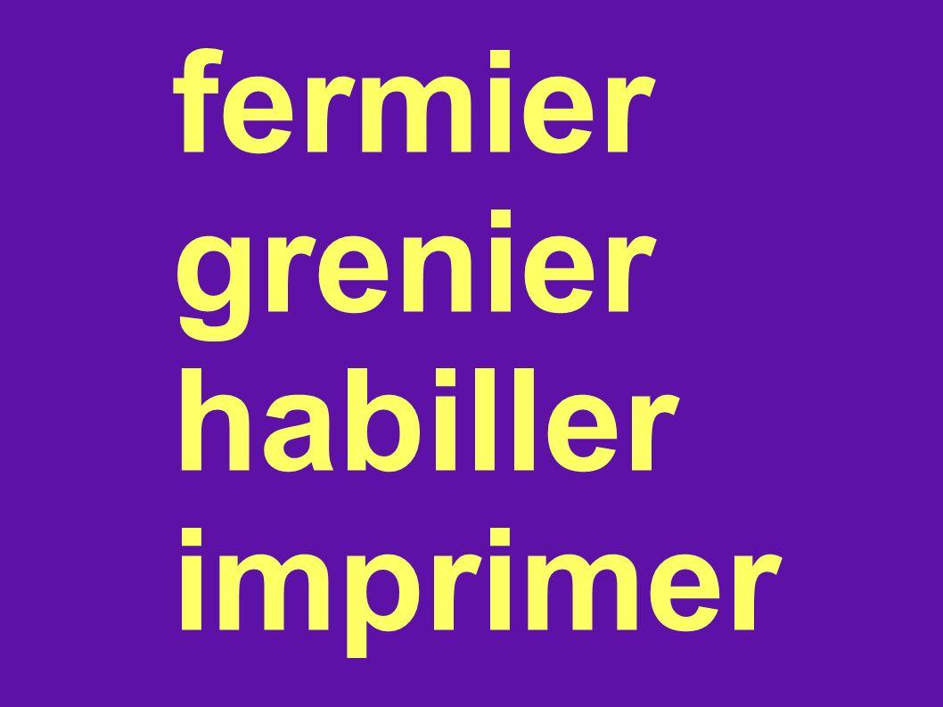 fermier grenier habiller imprimer