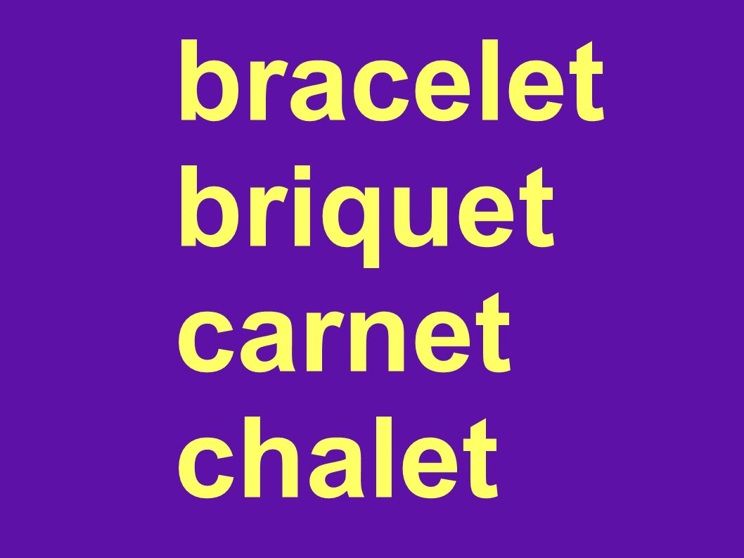 bracelet briquet carnet chalet