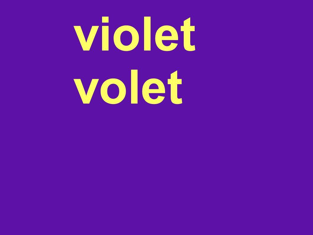 violet volet