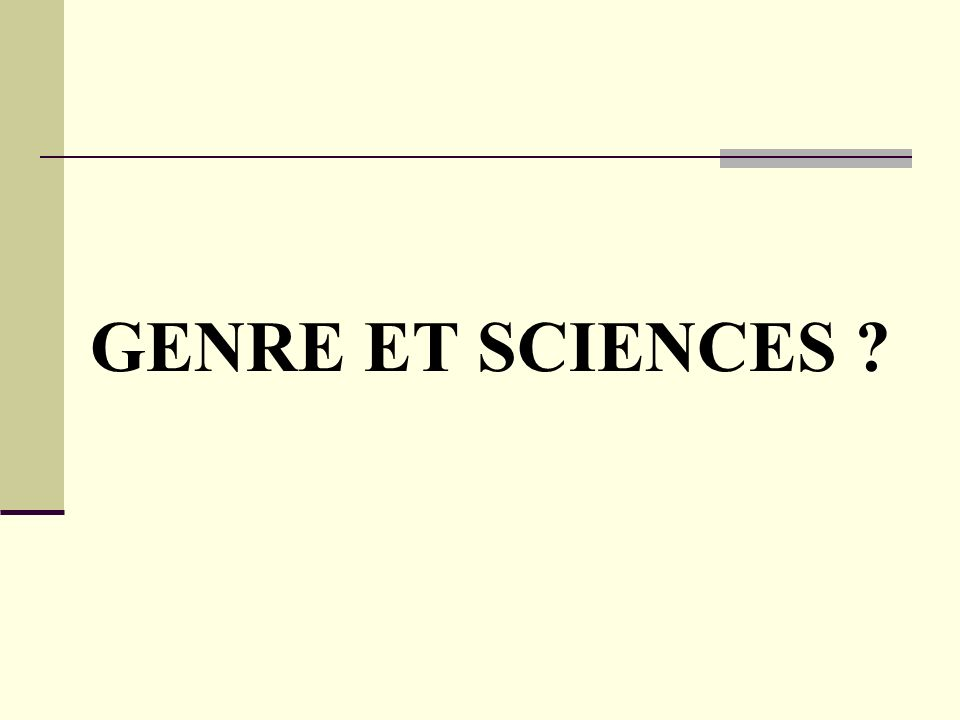 QUEST-CE QUE LA SCIENCE .