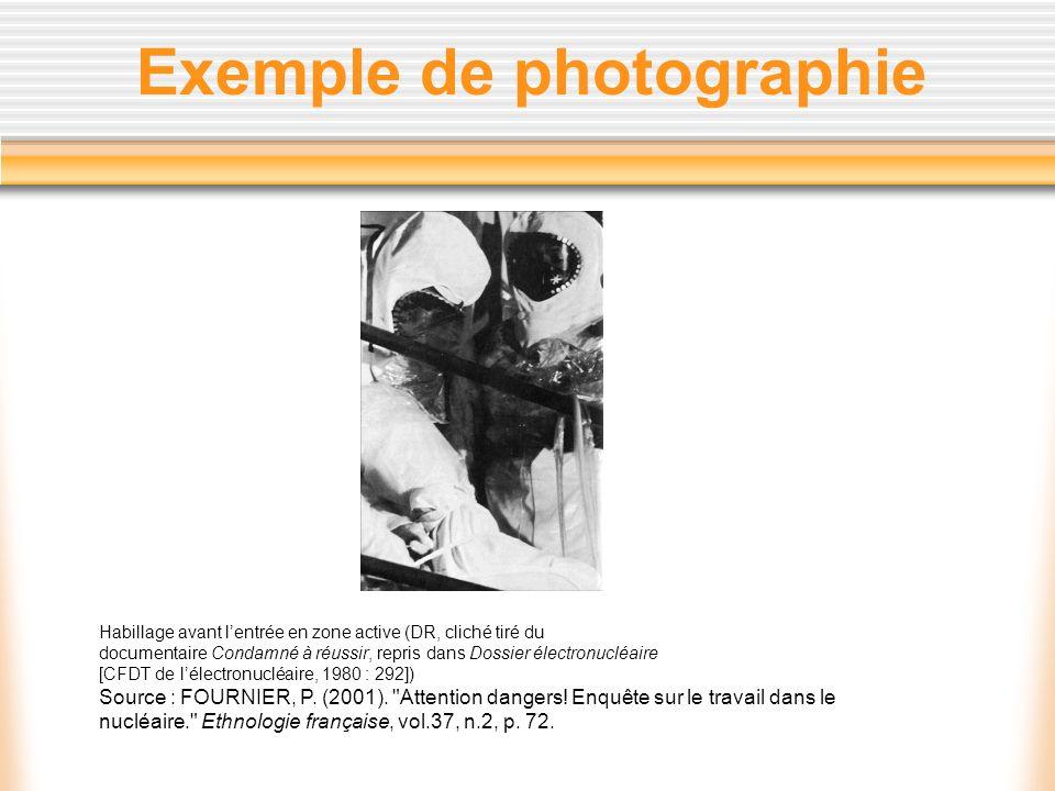 Exemple de photographie Habillage avant lentrée en zone active (DR, cliché tiré du documentaire Condamné à réussir, repris dans Dossier électronucléai