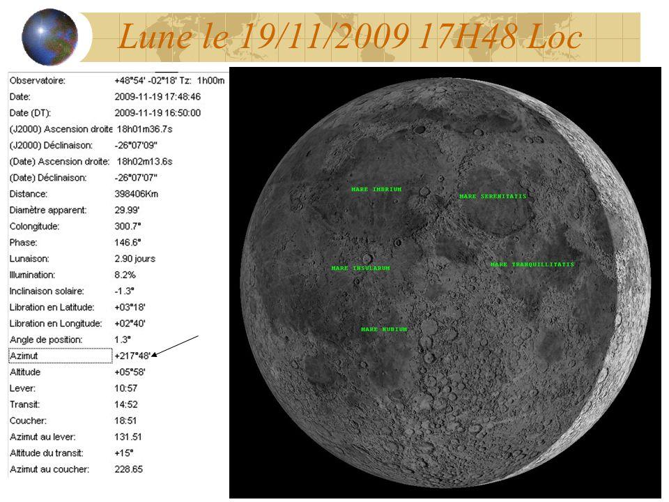 Lune le 19/11/2009 17H48 Loc