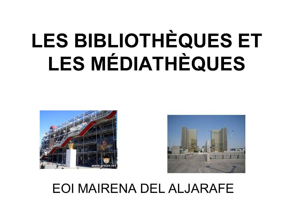 INTRODUCTION La France possède un important réseau de bibliothèques ou de médiathèques municipales.
