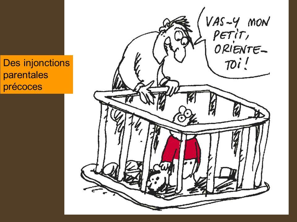 Des injonctions parentales précoces