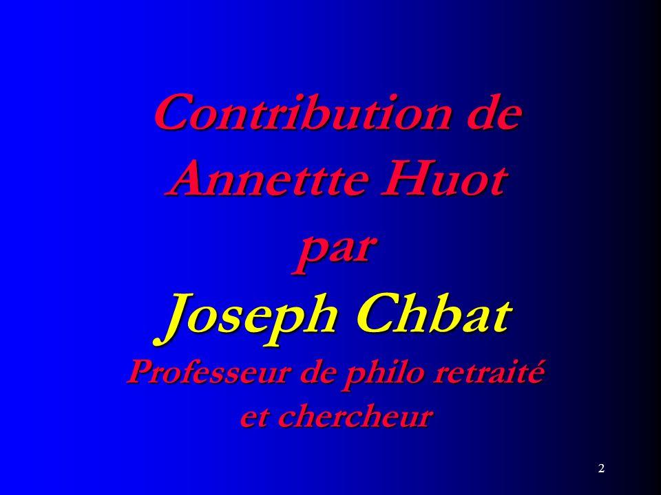 3 Point de vue de Annette Huot
