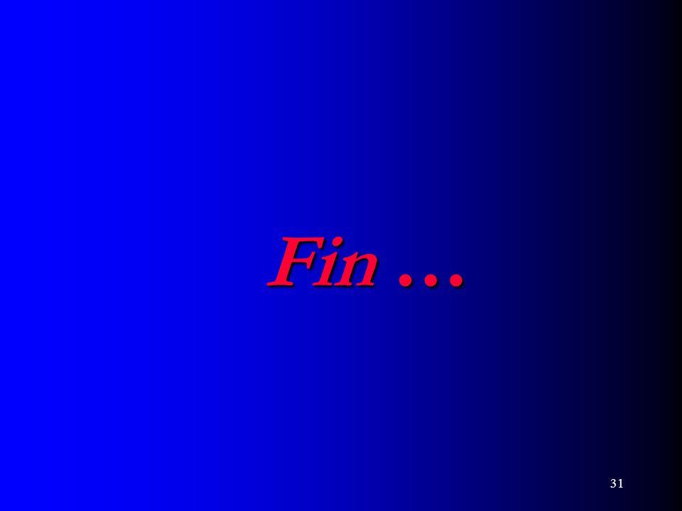31 Fin …