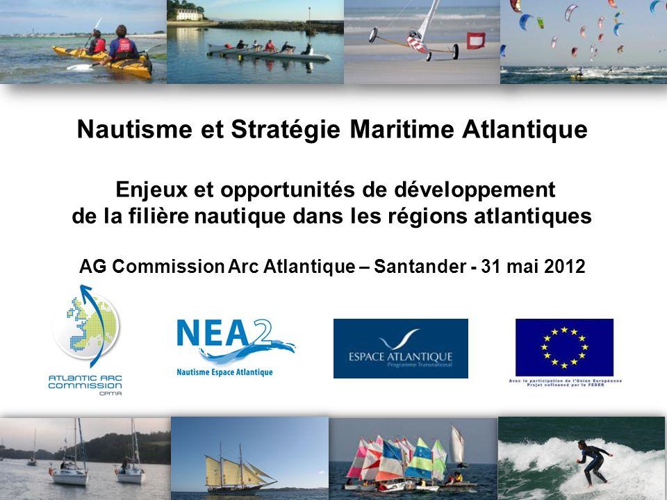 1 Nautisme et Stratégie Maritime Atlantique Enjeux et opportunités de développement de la filière nautique dans les régions atlantiques AG Commission