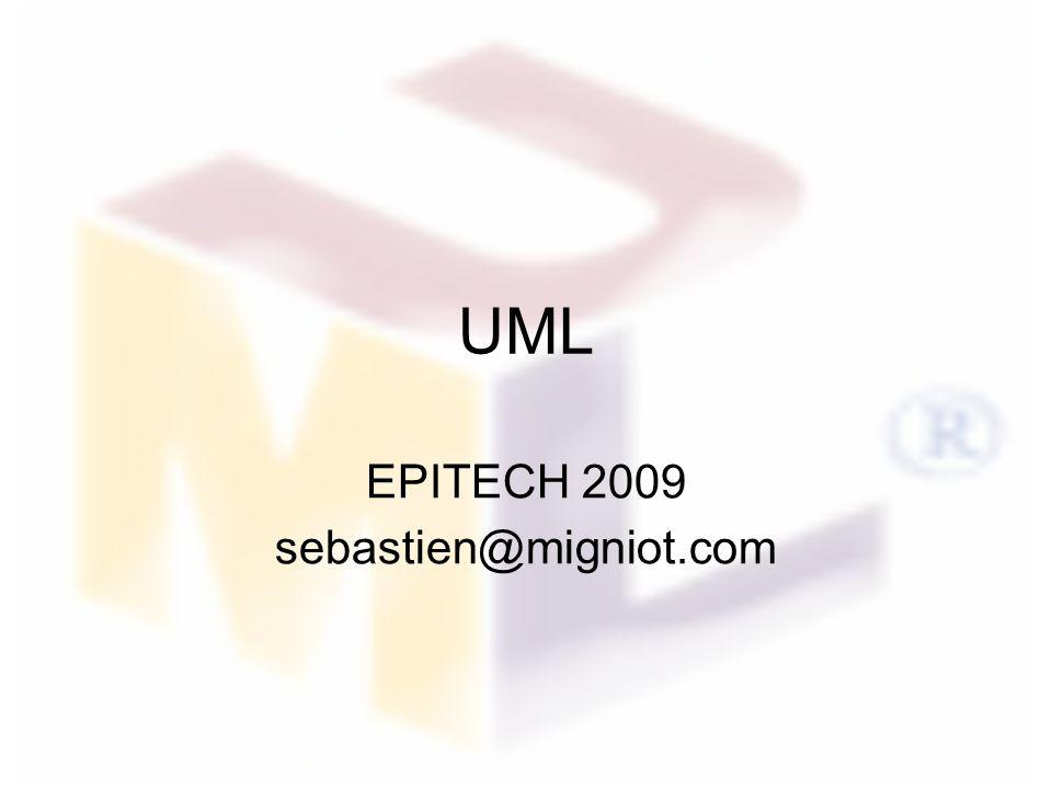 UML EPITECH 2009 sebastien@migniot.com