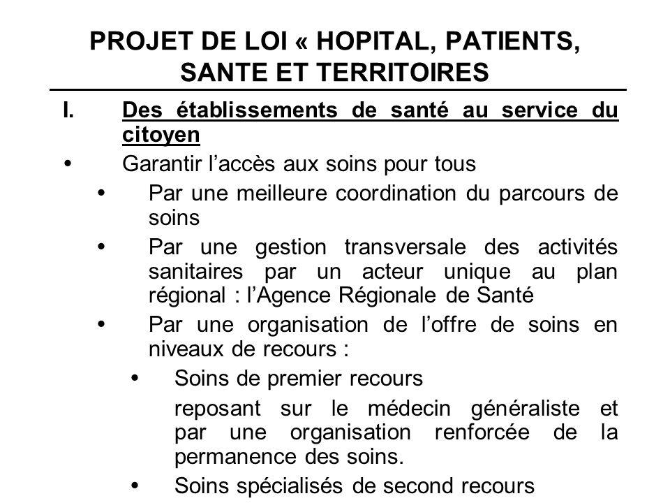 Par un renforcement de la coopération entre établis- sements de santé dans le cadre : de communautés hospitalières de territoires pour la mise en œuvre dune stratégie commune et de gestion en commun de certaines fonctions.
