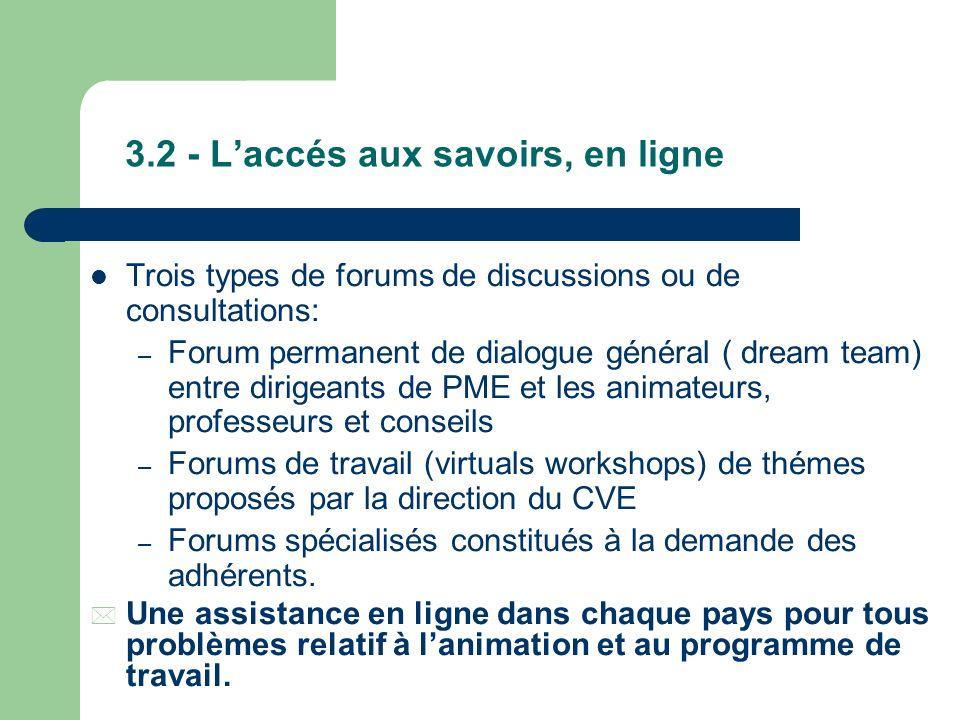 3.1- Principes de fonctionnement du CVE Afin de faciliter sa solvabilité pour les PME, le CVE fonctionne comme un club de moyens qui mutualiserait le