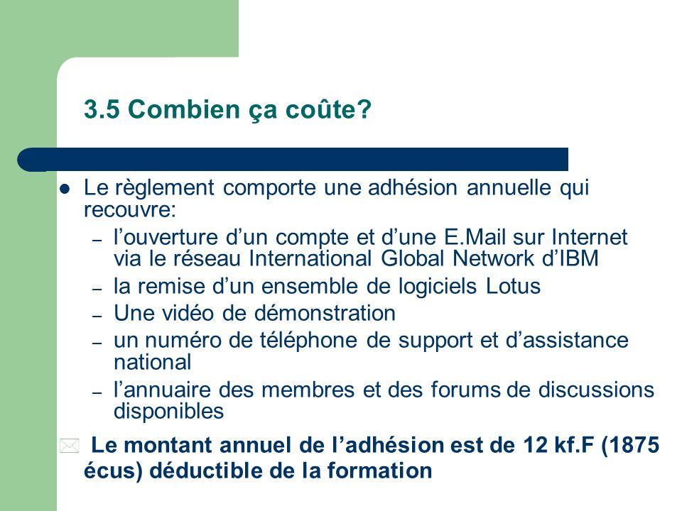 3.4 Comment fonctionne le réseau CVE? Les animateurs des forums sont des consultants et formateurs permanents qui animent le réseau au quotidien sur l