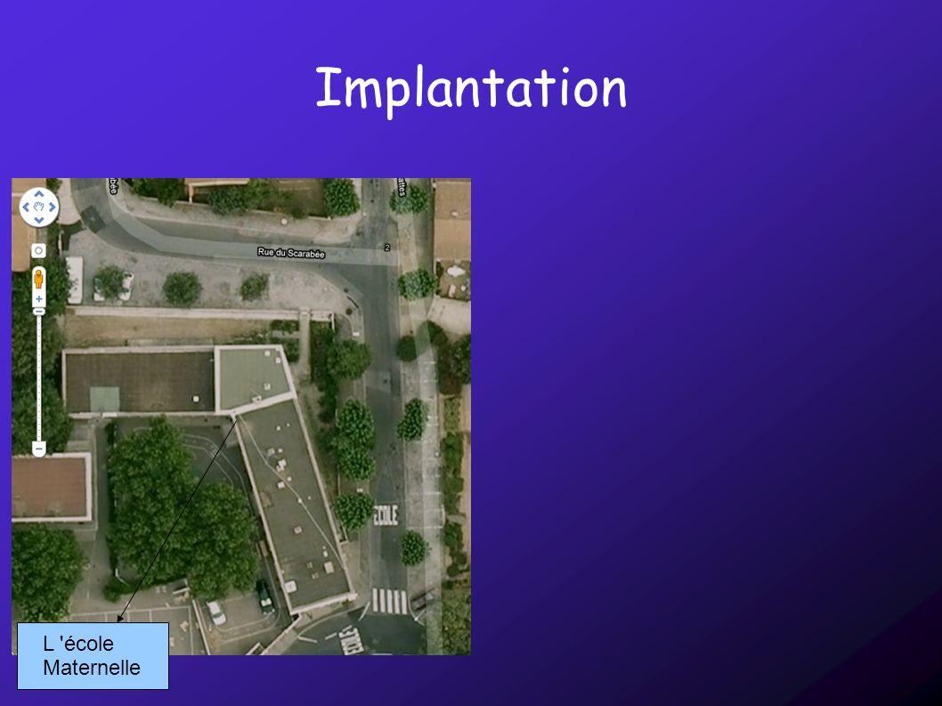 Implantation L 'école Maternelle