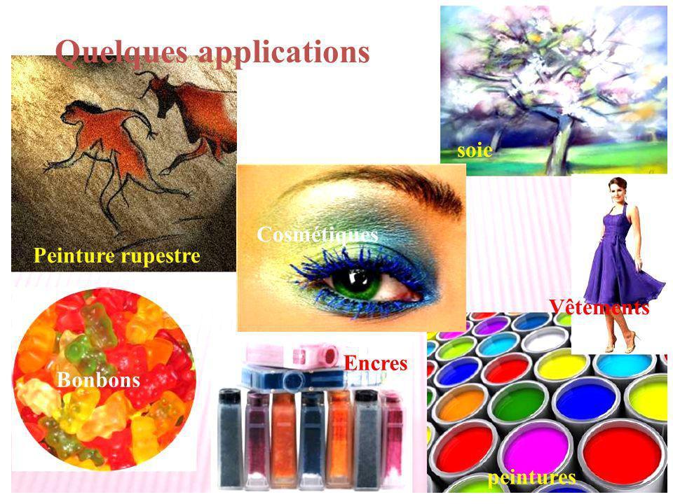 Bonbons peintures Encres Quelques applications soie Cosmétiques Peinture rupestre Vêtements