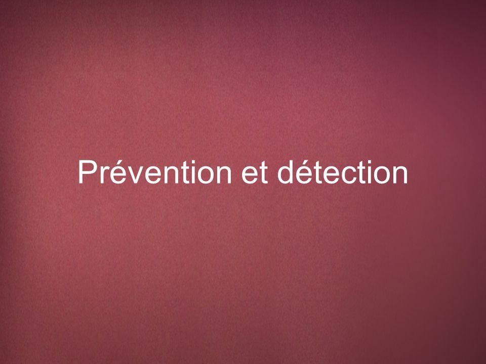 Définition de la prévention et de la détection Prévention se réfère aux mesures qui empêchent le cancer du sein de se développer ou, dans certains cas, qui retardent son apparition.