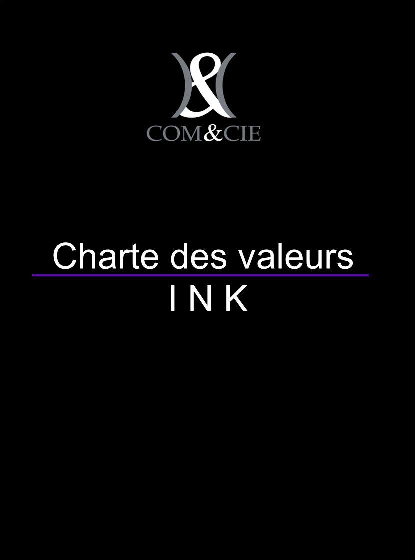 Charte des valeurs I N K