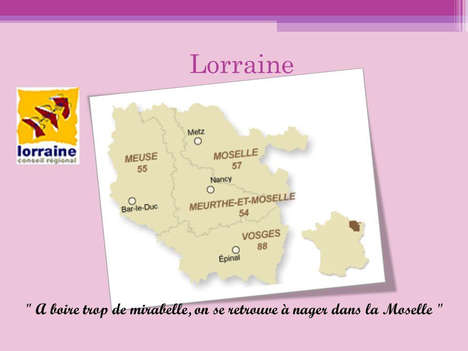 Autres spécialités régionales Charcuteries : Boudin de Nancy, Pâté lorrain, Andouille du Val d Ajol, Cervelas d Alsace, Palette fumée, Presskopf (fromage de tête), Jambon fumé.