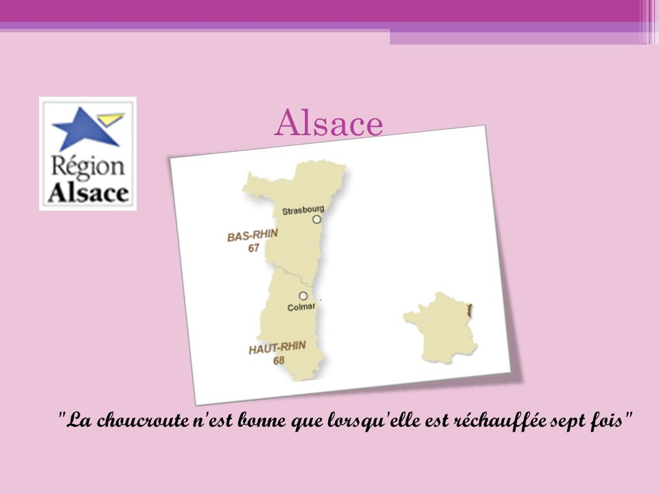 Situation géographique La Lorraine est située au NORD-EST de la France entre la région Champagne Ardennes et la région Alsace.