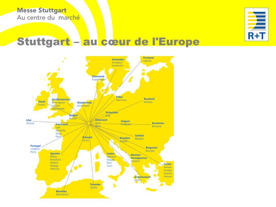 Stuttgart – au cœur de l'Europe