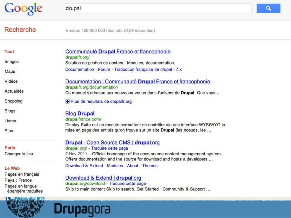 Comment ça marche? Drupal MySQL Apache SolR SQL POST GET