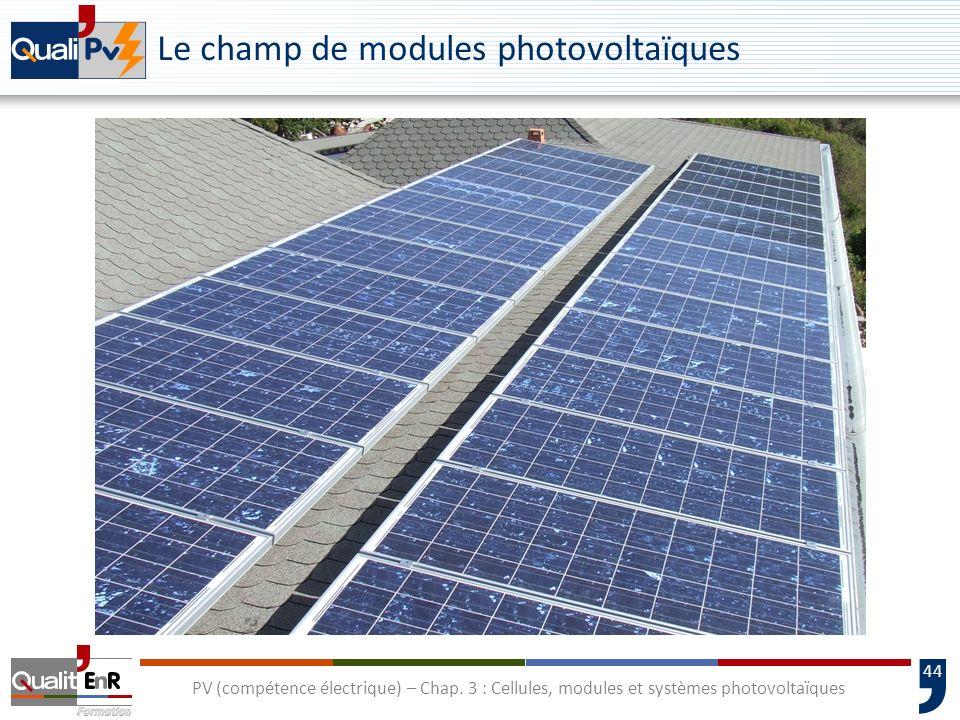 43 PV (compétence électrique) – Chap. 3 : Cellules, modules et systèmes photovoltaïques Consommation dénergie et de matériaux pour les couches minces