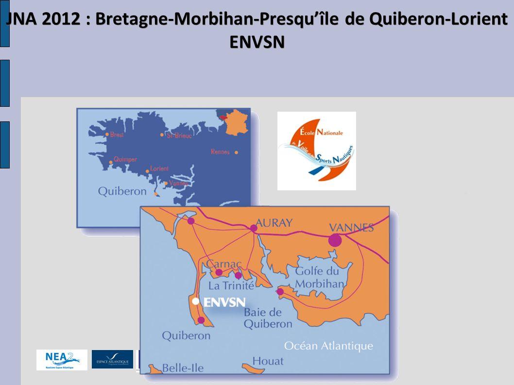 2012 : la Bretagne accueille à nouveau les jeux -1 an de préparation -Le support technique de lENV St Pierre-Quiberon -200 bénévoles -310 concurrents -60 accompagnateurs
