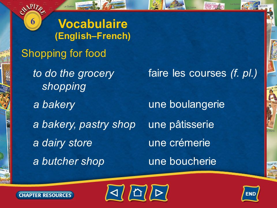 6 Other useful words and expressions bon(ne) Vous voulez autre chose.