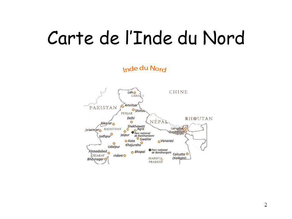 2 Carte de lInde du Nord