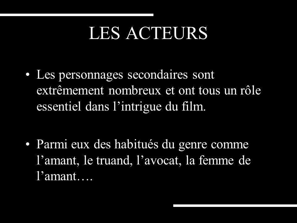 LES ACTEURS Frances Mc Dormand est une actrice favorite des frères Coen mais également la femme de Joël Coen. Cest son troisième film avec le duo aprè