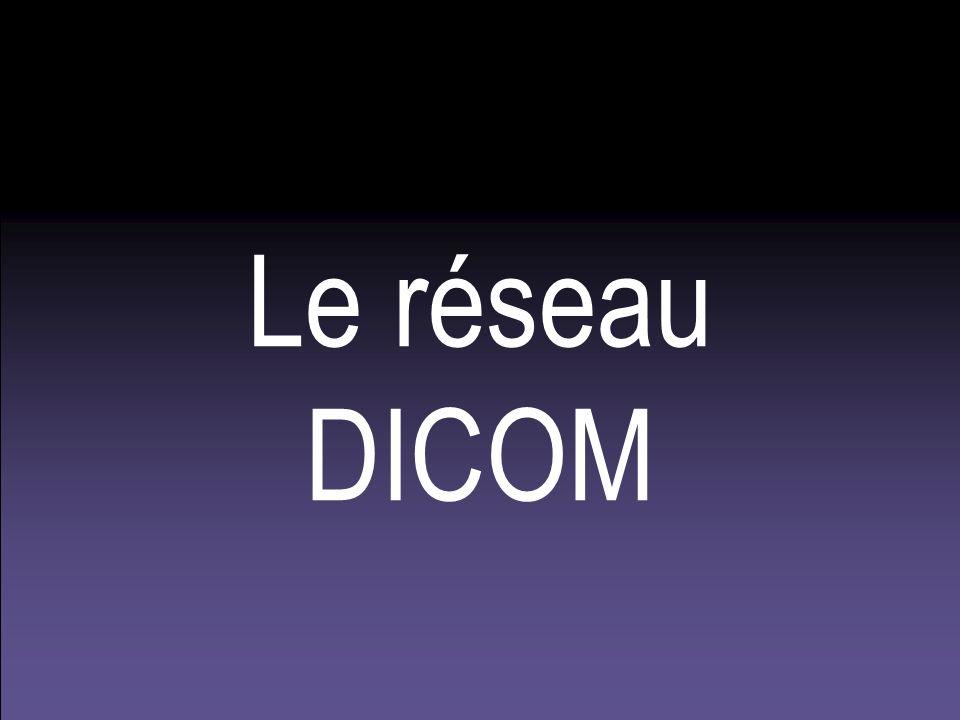 Le réseau DICOM