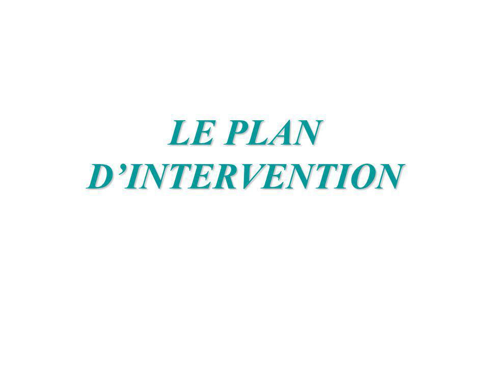 LE PLAN DINTERVENTION