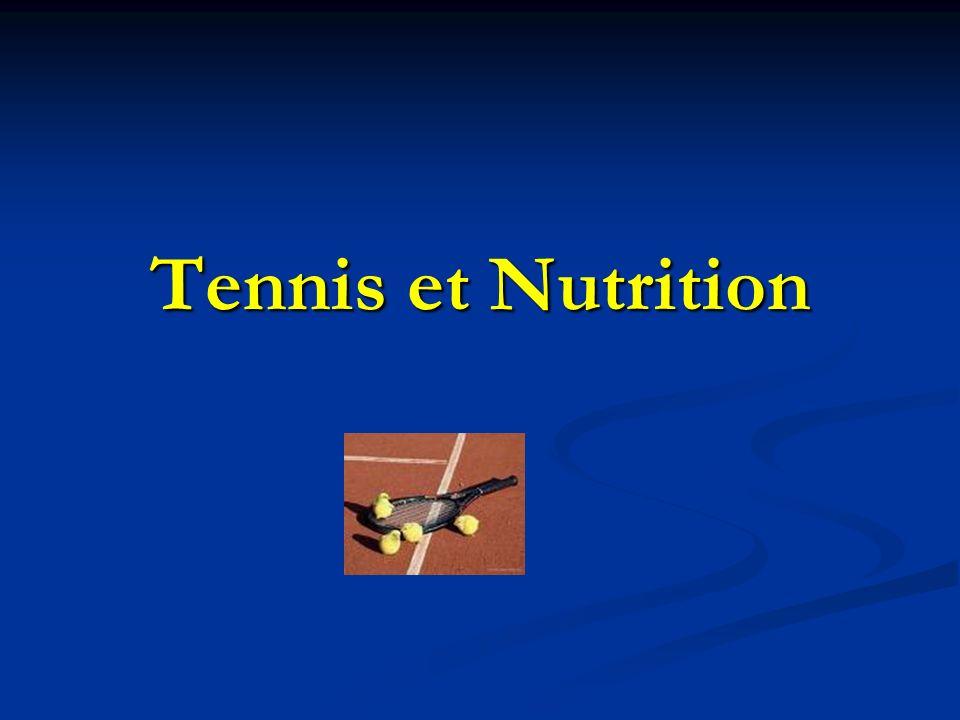 Tennis et Nutrition