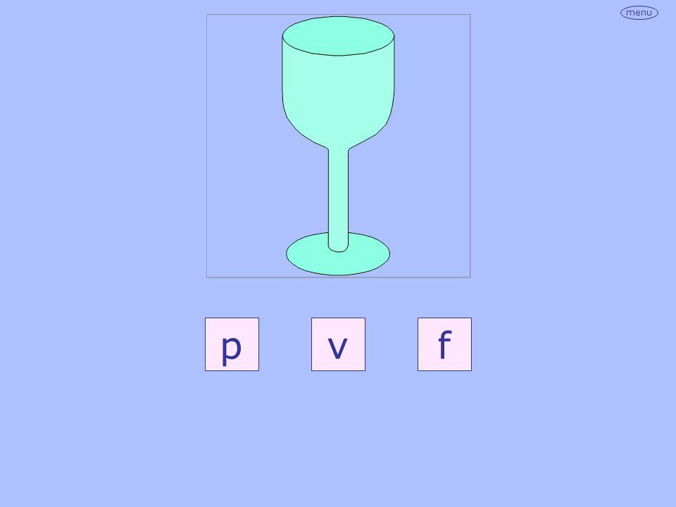 menu pvf