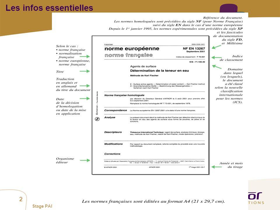 1 / Pour personnaliser les références : Affichage / En-tête et pied de page Personnaliser la zone Pied de page, Faire appliquer partout 2 Stage PAF su