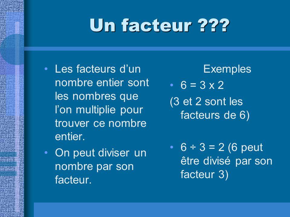 A factor ??.