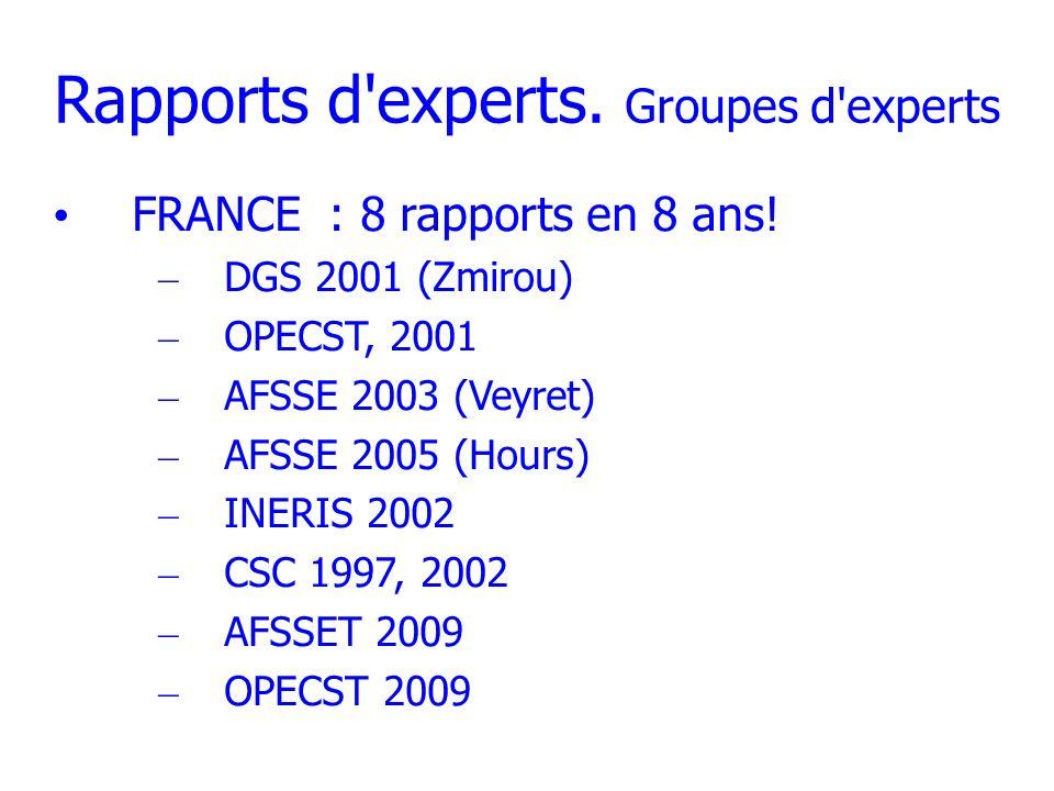 Autres Rapports Rapports « militants » – BioInitiative – Ondes de choc – 15 raisons.....