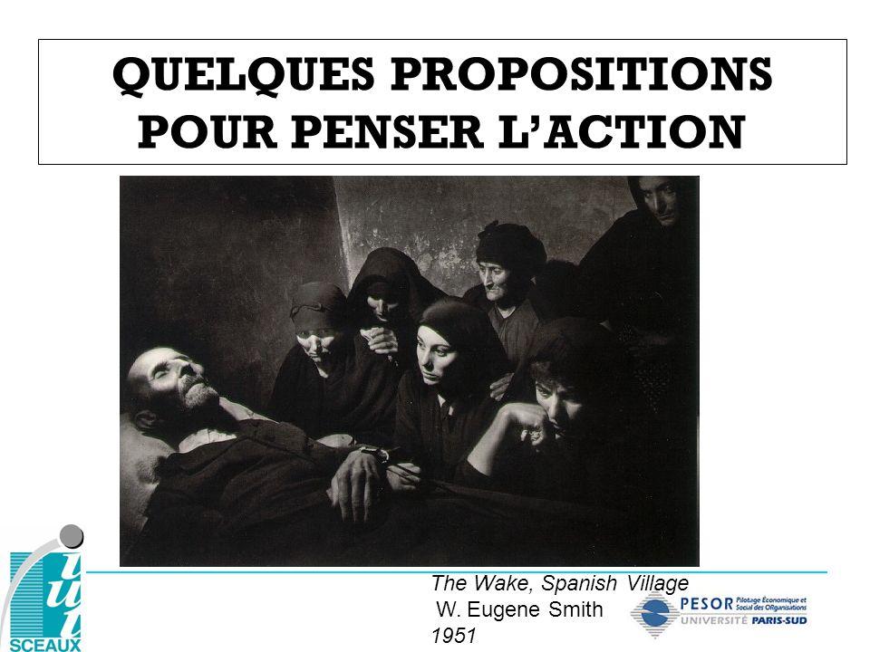 QUELQUES PROPOSITIONS POUR PENSER LACTION The Wake, Spanish Village W. Eugene Smith 1951