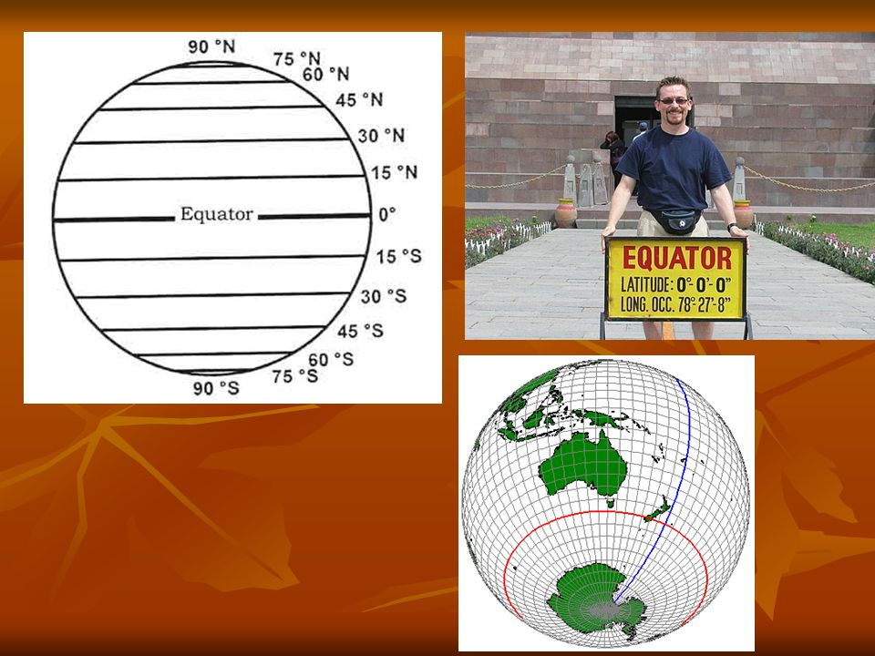 Les méridiens de longitude Les méridiens de longitude sont des lignes imaginaires qui encerclent le globe avec une orientation verticale.