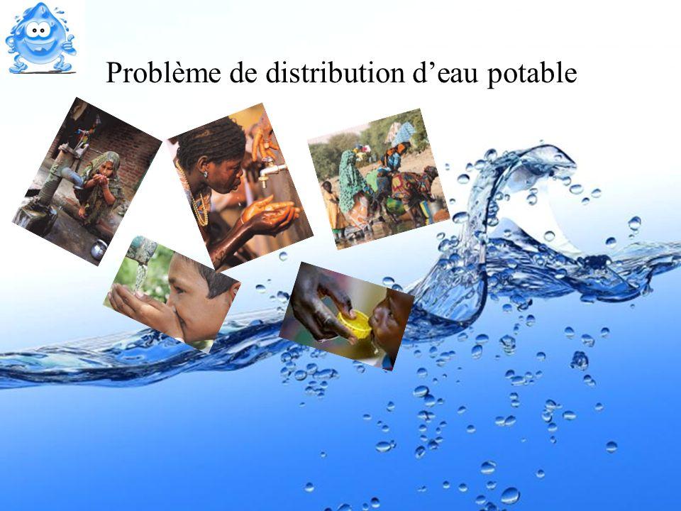 30 Problème de distribution deau potable